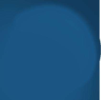 blauer Kreis - Designelement