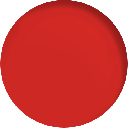 roter Kreis - Designelement