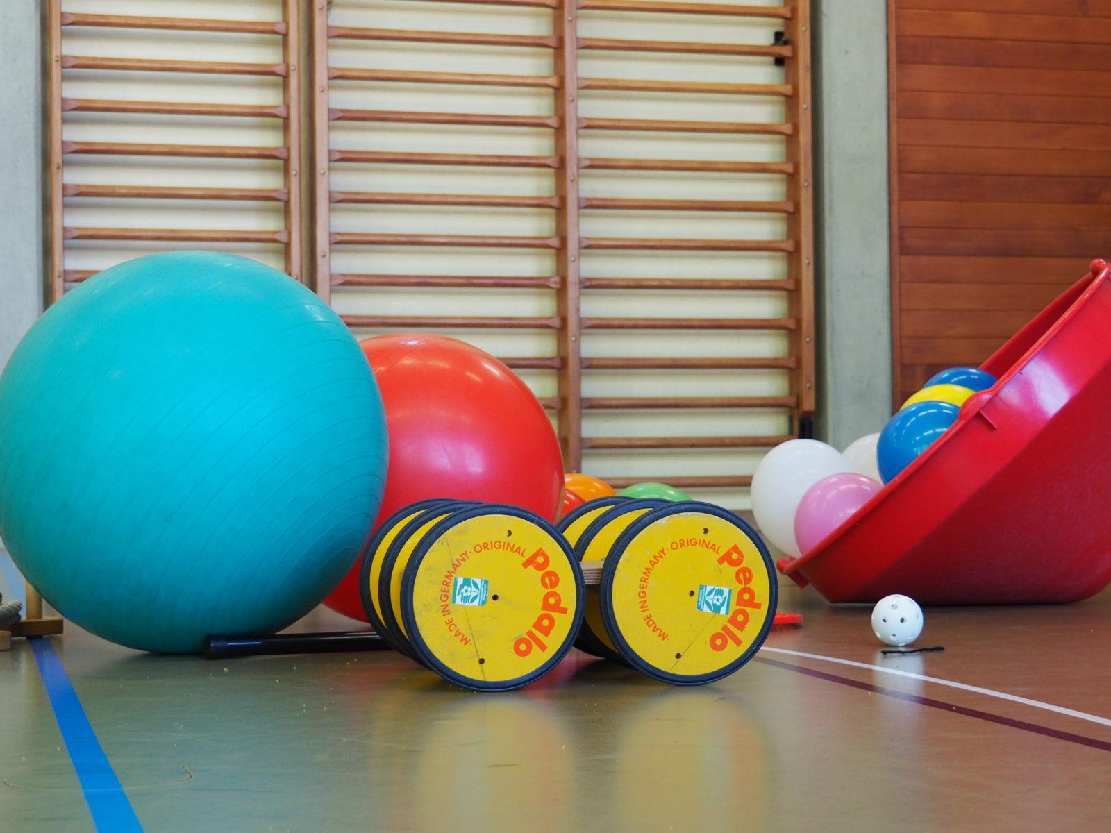 Geräte fürs Kinderturnen